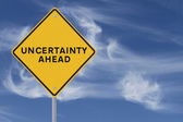 Uncertainty Ahead — Stock Photo