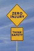 Zero lesão — Foto Stock