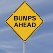 Bumps Ahead — Stock Photo #11820206