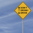 Do Not Drink And Drive — Stock Photo