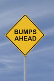 Bumps Ahead — Stock Photo