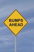 Bumps Ahead — Stock Photo