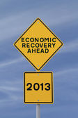 Recovery in 2013 — Stock Photo