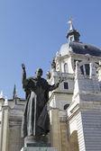 Madrid-katedralen — Stockfoto