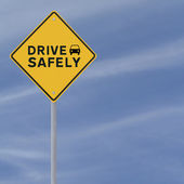 Drive Safely — Stock Photo