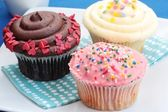 Assorted Cupcakes — Stock Photo