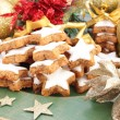 Stock Photo: Christmas Cinnamon Cookies or Biscuits