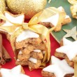 Christmas Cinnamon Cookies or Biscuits — Stock Photo #11992759
