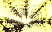 Abstract 3D neuron composition — Stock Photo