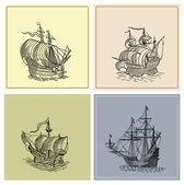 海賊の地図 — ストック写真