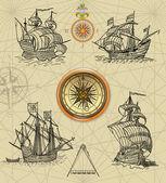 Pirate map — Stock Photo