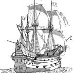 Pirate galion — Stock Photo