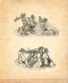 Neptune illustration — Stock Photo