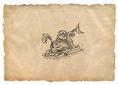 Monster illustration — Stock Photo