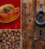 Coffee set — Stock Photo