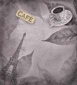 Coffee theme background — Stock Photo