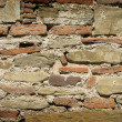 Ancient roman wall architecture — Stock Photo