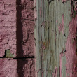 Old wood wall - Foto Stock
