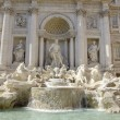 Baroque Trevi Fountain (Fontana di Trevi) in Rome — Stock Photo #11988122