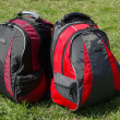 Modern backpacks — Foto Stock #11988237