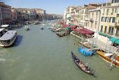 Via bella acqua - grand canal a venezia, italia — Foto Stock