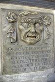 Gamla mask i venedig, italien — Stockfoto