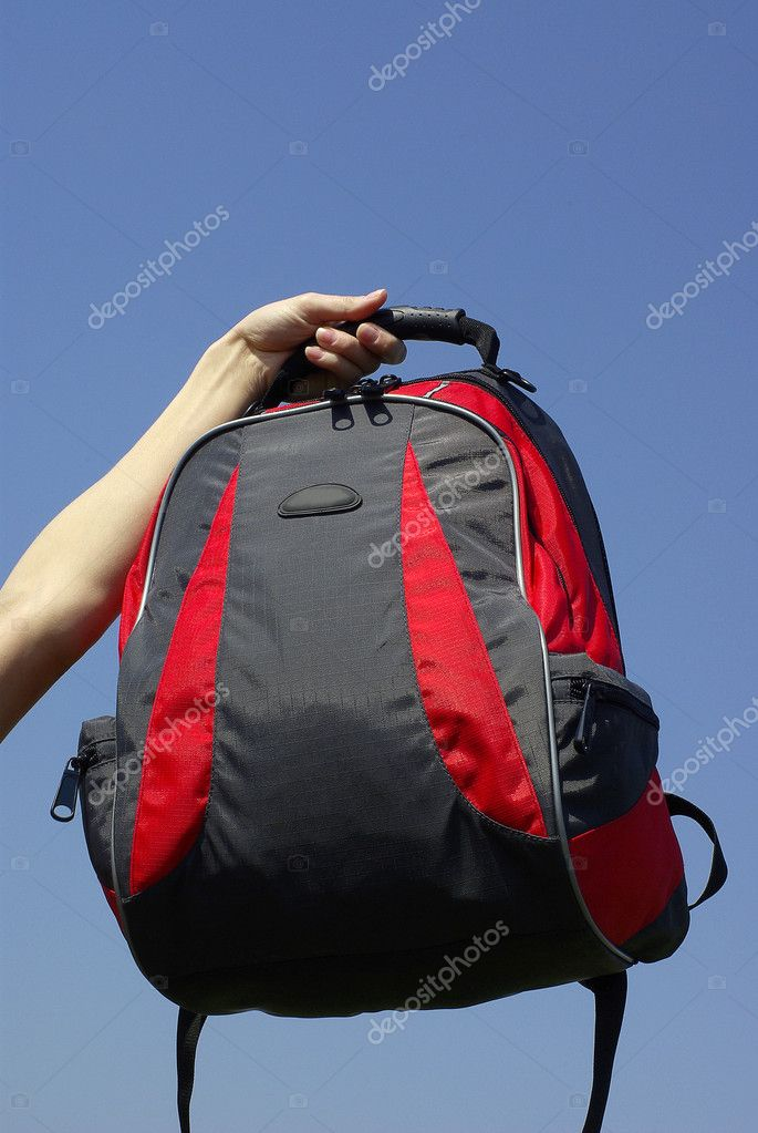 modern backpack — Stock Photo #11988261