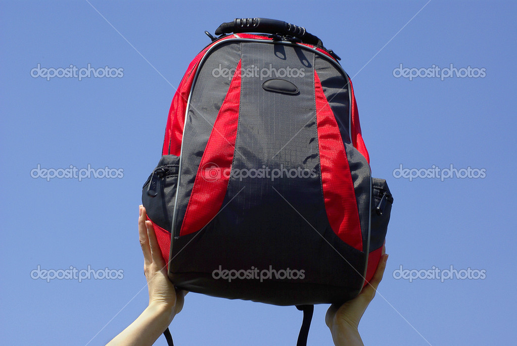  modern backpack  Stock Photo #11988293