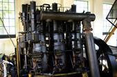 Původní dieselový motor z roku 1930 — Stock fotografie