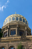 Nuova sinagoga. berlino. germania — Foto Stock