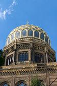 新犹太教堂。柏林。德国 — 图库照片