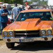 ������, ������: PAAREN IM GLIEN GERMANY MAY 26: Cars Chevrolet Chevelle The oldtimer show in MAFZ May 26 2012 in Paaren im Glien Germany