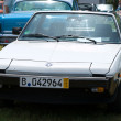 """PAAREN IM GLIEN, GERMANY - MAY 26: Car Fiat X1 9 """"The oldtimer show"""" in MAFZ, May 26, 2012 in Paaren im Glien, Germany — Stock Photo"""