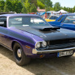 PAAREN IM GLIEN, GERMANY - MAY 26: Car Dodge Challenger coupe, &amp;quot;The oldtimer show&amp;quot; in MAFZ, May 26, 2012 in Paaren im Glien, Germany - Stock Photo