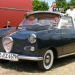 "PAAREN IM GLIEN, GERMANY - MAY 26: Car Taxis, Glas Goggomobil TS 250 Coupe, ""The oldtimer show"" in MAFZ, May 26, 2012 in Paaren im Glien, Germany — Foto Stock"