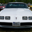 "PAAREN IM GLIEN, GERMANY - MAY 26: Car Pontiac Firebird, ""The oldtimer show"" in MAFZ, May 26, 2012 in Paaren im Glien, Germany - Stock Photo"