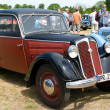 "PAAREN IM GLIEN, GERMANY - MAY 26: Cars DKW F8, ""The oldtimer show"" in MAFZ, May 26, 2012 in Paaren im Glien, Germany - Stock Photo"