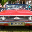 "PAAREN IM GLIEN, GERMANY - MAY 26: Cars Chevrolet Impala Convertible Coupe, ""The oldtimer show"" in MAFZ, May 26, 2012 in Paaren im Glien, Germany - 图库照片"