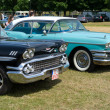 Постер, плакат: PAAREN IM GLIEN GERMANY MAY 26: Cars Cadillac Sixty Special and Buick Special The oldtimer show in MAFZ May 26 2012 in Paaren im Glien Germany