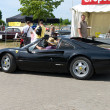 "PAAREN IM GLIEN, GERMANY - MAY 26: The sports car Ferrari 208 GTS, ""The oldtimer show"" in MAFZ, May 26, 2012 in Paaren im Glien, Germany — Foto de Stock"