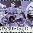 NEW ZEALAND - CIRCA 2007: Postage stamps printed in New Zealand, is dedicated to the 100th anniversary of the Home of Compassion, depicted Suzanne Aubert, circa 2007 — Stock Photo