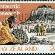 NEW ZEALAND - CIRC1984: Postage stamps printed in New Zealand, shows Antarctic Research, Geology, circ1984 — Stok Fotoğraf #11972234
