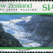 NEW ZEALAND - CIRCA 1992: Postage stamps printed in New Zealand, shows Franz Josef Glacier, Westland Tai Poutini National Park, circa 1992 — Stock Photo #11972383