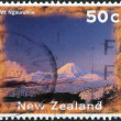 NEW ZEALAND - CIRCA 1996: Postage stamps printed in New Zealand, shows Mount Ngauruhoe, circa 1996 — Stock Photo