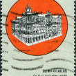 HONG KONG - CIRCA 1976: A stamp printed in the Hong Kong shows General Post Office, 1911 - 1976, circa 1976 — Stock Photo #11973755