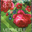 CROATIA - CIRCA 2010: A stamp printed in Croatia, the dedicated Medimurje County, a series of Croatian Ethnographic Heritage, circa 2010 — Stock Photo