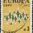 Royalty-Free Stock Photo: GREECE - CIRCA 1972: Postage stamps printed in Greece, shows stars, circa 1972