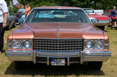 """PAAREN IM GLIEN, GERMANY - MAY 26: Cars Cadillac Fleetwood Seventy-Five """"The oldtimer show"""" in MAFZ, May 26, 2012 in Paaren im Glien, Germany — Stock Photo"""