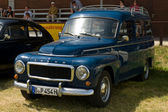 "PAAREN IM GLIEN, GERMANY - MAY 26: Cars Volvo Duett, ""The oldtimer show"" in MAFZ, May 26, 2012 in Paaren im Glien, Germany — Foto Stock"