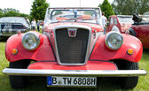"""PAAREN IM GLIEN, GERMANY - MAY 26: Spartan Cars, """"The oldtimer show"""" in MAFZ, May 26, 2012 in Paaren im Glien, Germany — Stock Photo"""